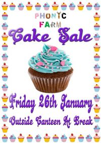 Bake Sale  - Friday 26 January